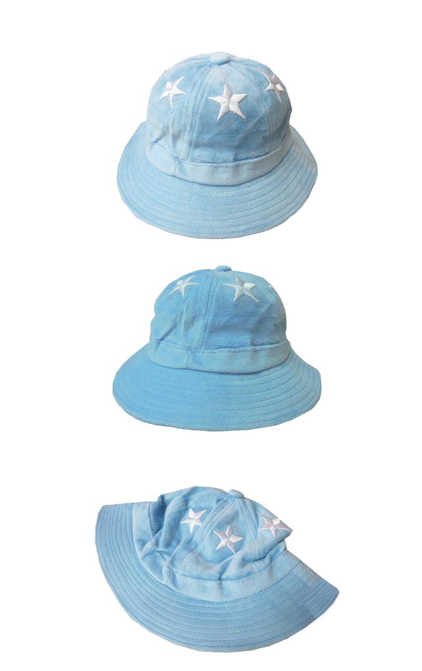 帽子‧漁夫帽‧遮陽帽‧個性帽款‧韓系女孩穿搭‧五星星漁夫帽【C0422】艾咪E舖.喜多小冰跑跳蹦