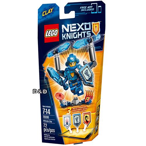 樂高積木LEGO《 LT70330 》Nexo Knights 未來騎士系列 - 終極未來騎士克雷