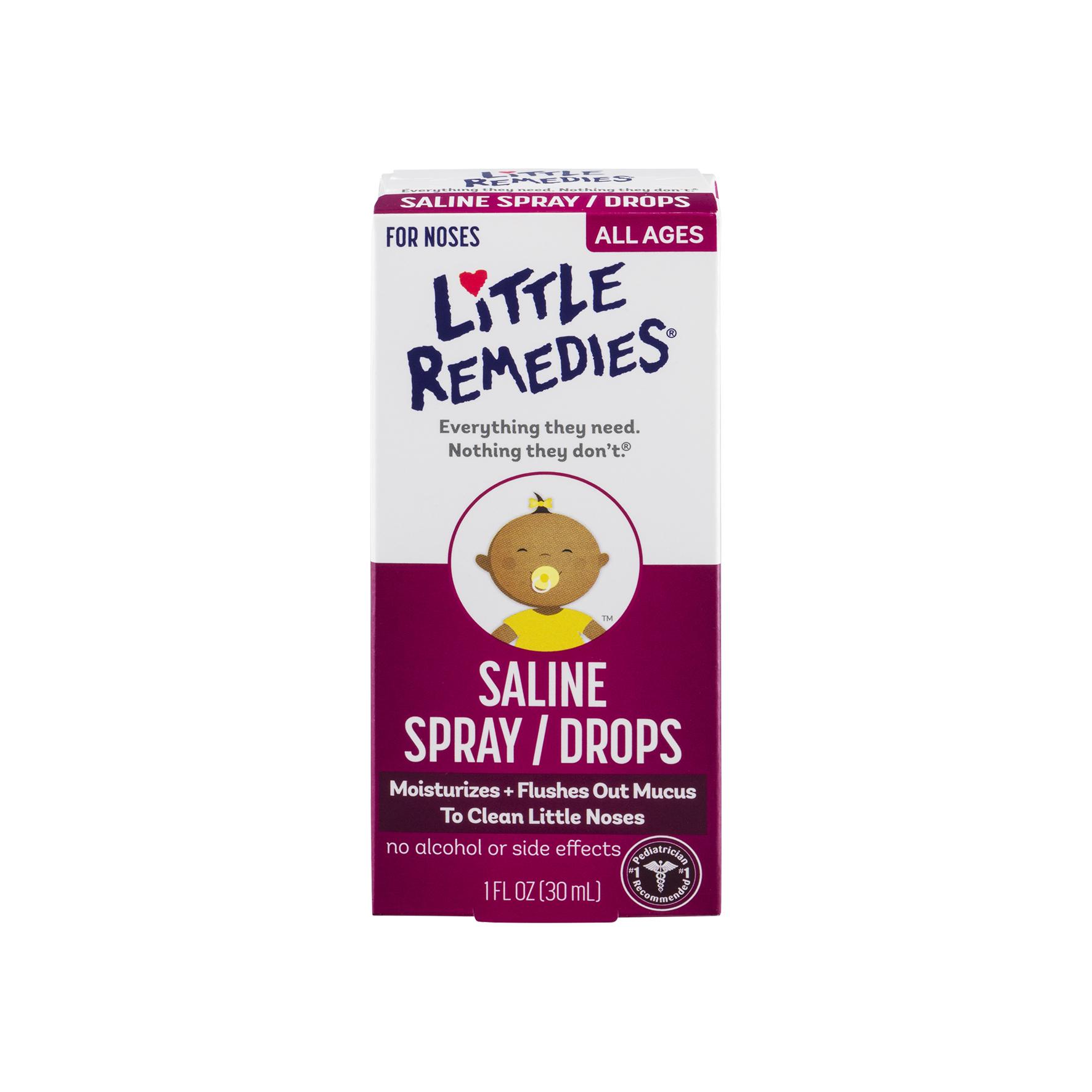 《★美國 Little Remedies》 嬰幼兒滴鼻劑 育嬰必備 美國代購 溫媽媽