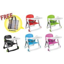 【淘氣寳寳】 英國  Apramo  Flippa  dining  booster  ( QTI ) 可攜式兩用兒童 餐椅 【贈送原廠兩用提袋/香草奶嘴】