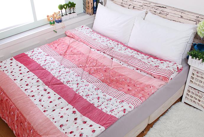 法萊絨/法蘭絨暖暖被/厚毯被_玫瑰戀人《GiGi居家寢飾生活館》