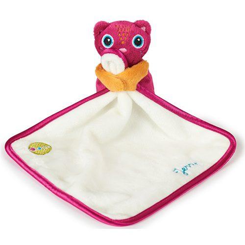 【淘氣寶寶】瑞士【Oops】歐歐皮 安撫玩偶口水-貓咪【來自瑞士,嚴格把關的寶寶設計品牌】