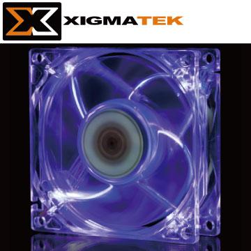 Xigmatek CLF-F8255 紫光 LED 8cm 系統散熱風扇