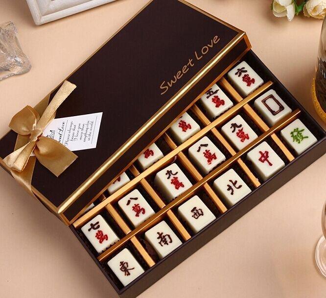 =優生活=蛋糕裝飾麻將巧克力模型 麻將蛋糕 PC巧克力模具 東西風字