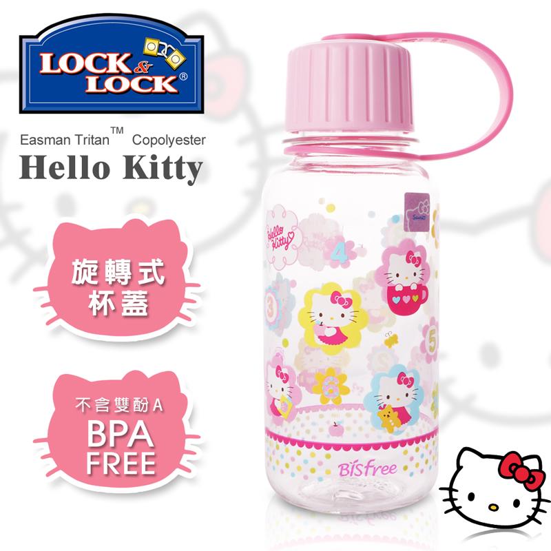 【樂扣樂扣】HELLO KITTY 隨行冷水壺/260ML(彩色棉花)
