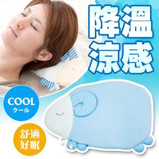 【日本HONYARA堂】沁涼降溫涼感午安枕(點點好眠羊)