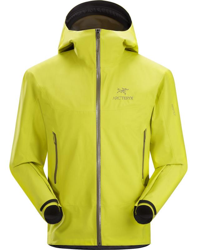 Arcteryx 始祖鳥 雨衣/健行/背包客/玉山 Beta SL 登山雨衣/風雨衣 男 Gore Tex 10968 蕁麻酒綠