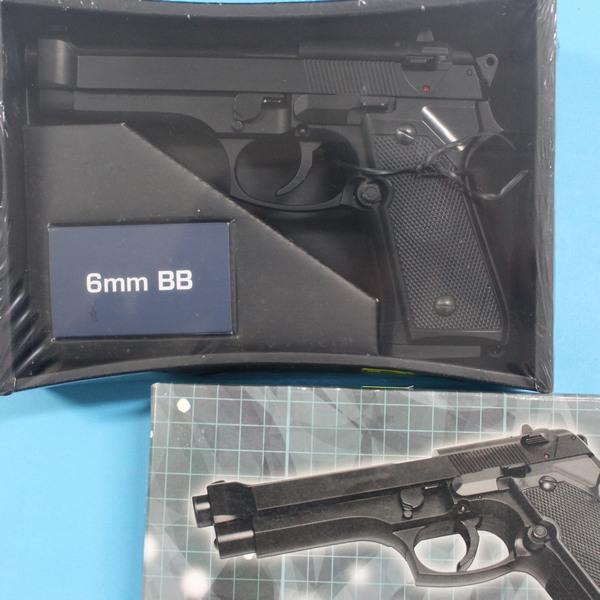 台灣製空氣BB槍 AD-211 BB槍 M92加重型玩具槍(黑色)/一支入{促600}~佳19AD-211