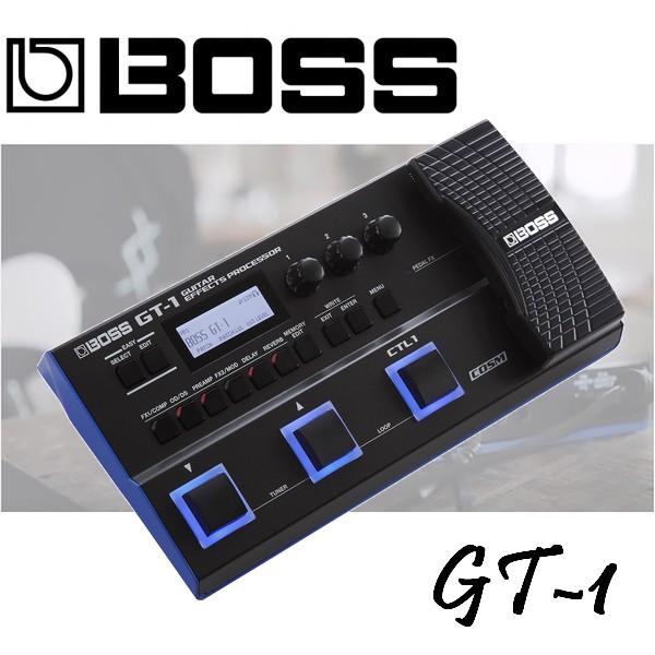 【非凡樂器】BOSS GT-1 旗艦型吉他綜合效果器 / 職業樂手最愛的優質音色 / 原廠公司貨/一年保固