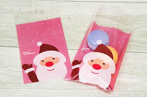 聖誕節糖果分裝袋(聖誕之星、聖誕老人、包裝袋、自黏袋)