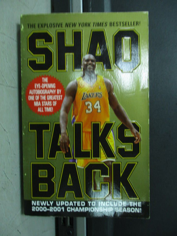 【書寶二手書T5/傳記_LOK】Shaq Talks Back_O'Neal, Shaquille