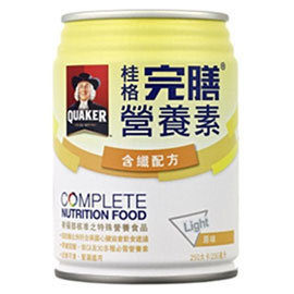 *最低1箱1100元*【桂格】完膳營養素(含纖配方原味) 24瓶/箱