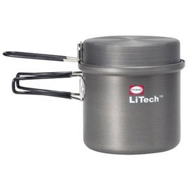 【【蘋果戶外】】Primus 731722 超輕鋁合金湯壺-1L 附收納袋 硬鋁材質不沾鍋 適用各種登山爐/汽化爐/快速爐