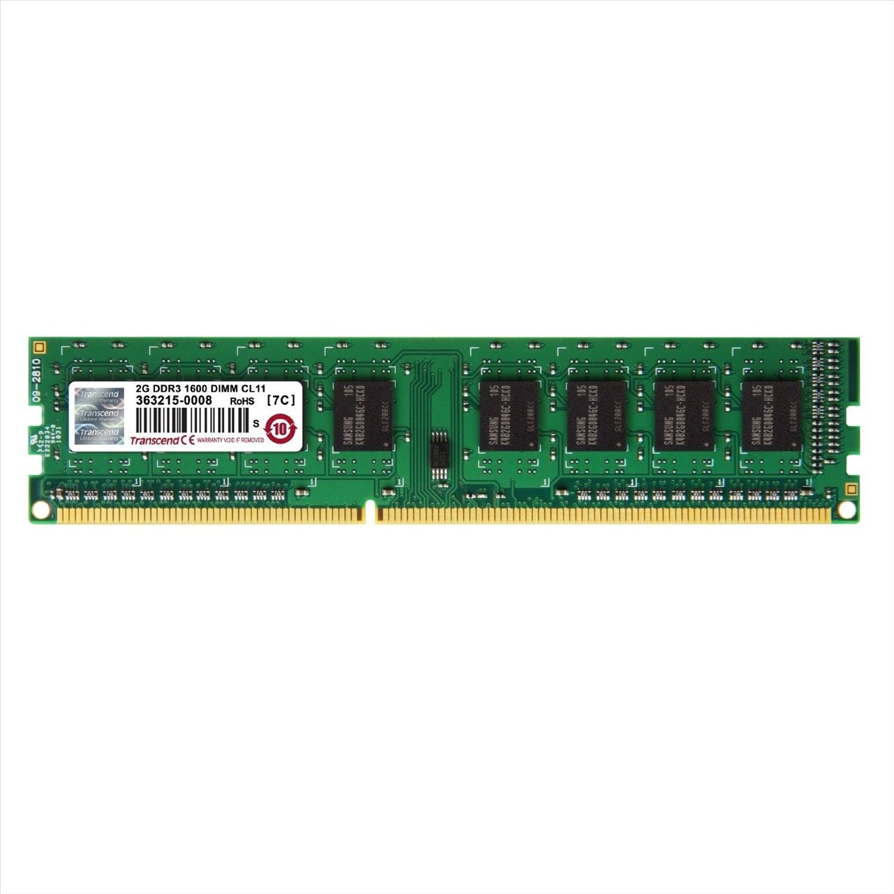 *╯新風尚潮流╭*創見桌上型 2G DDR3-1600 終身保固 公司貨 TS256MLK64V6N