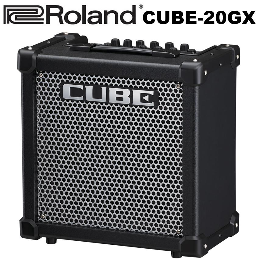 【非凡樂器】Roland CUBE-20GX(Cube 20GX)電吉他音箱/內建破音/可連接iphone/原廠公司貨