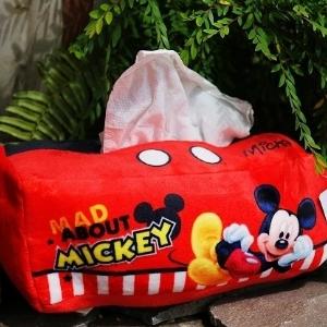 美麗大街【104100821】迪士尼 米奇 米老鼠 紙巾盒 面紙套