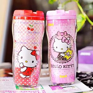 美麗大街【104110107】三麗鷗Hello Kitty  杯子 水壺
