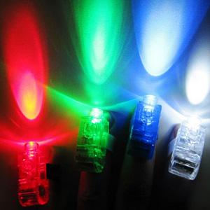 美麗大街【BF523E17E863】炫彩魔幻夜光手指燈(4入)