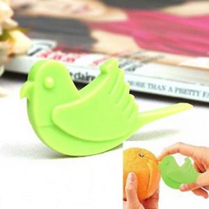 美麗大街【BF152E13】小鳥造型開橙器 剝皮器