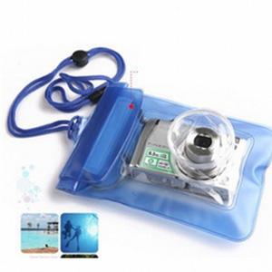 美麗大街【BF542E3E861】SAFEBET 戶外卡片相機防水袋(藍色小號)