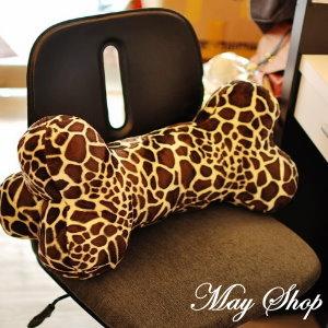衫皇衫家【S100802】大型豹紋狗骨頭抱枕