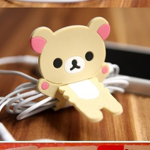 衫皇衫家【S101041527】卡通熊集線器/繞線器