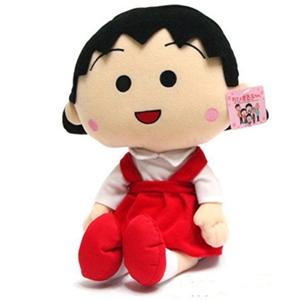美麗大街【S102051417】卡通櫻桃小丸子18吋玩偶