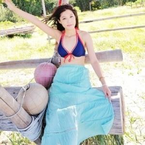 美麗大街【SW70711】平口兩穿式蕾絲拼接連身裙洋裝