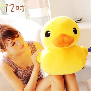 美麗大街【10208077】黃色小鴨12吋造型公仔玩偶