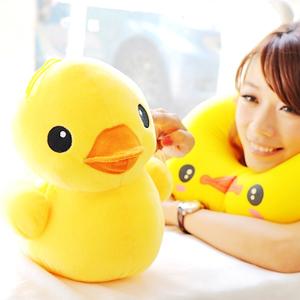 美麗大街【102081911】黃色小鴨吊飾玩偶