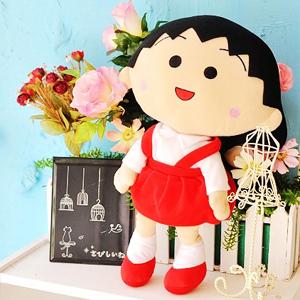 美麗大街【1020917052】12吋櫻桃小丸子/櫻桃子 玩偶 娃娃