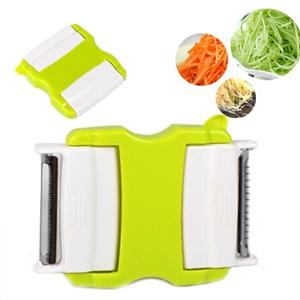 美麗大街【BFC13E1E4】廚房必備多功能蔬菜刨刮器水果削皮器