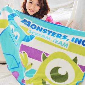 美麗大街【102122321】怪獸電力公司隨身毛毯被子