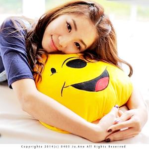 美麗大街【103021018】小熊維尼12吋大頭造型抱枕