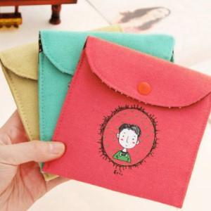 美麗大街【BF095E6E875】韓版復古風童年棉麻衛生棉包