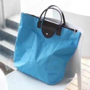 美麗大街【BFO07E5E24】600D牛津布可折疊購物袋