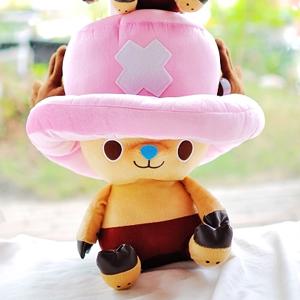 美麗大街【103040213】海賊王喬巴18吋坐姿造型玩偶