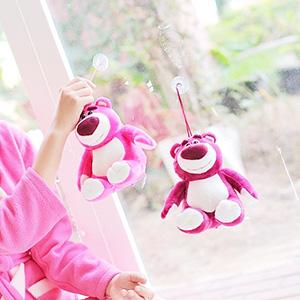 美麗大街【103100825】迪士尼玩具總動員草莓熊抱哥吸盤公仔玩偶