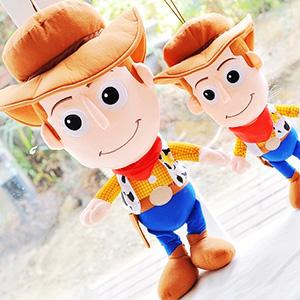 美麗大街【153111101】迪士尼玩具總動員胡迪大頭25吋公仔玩偶