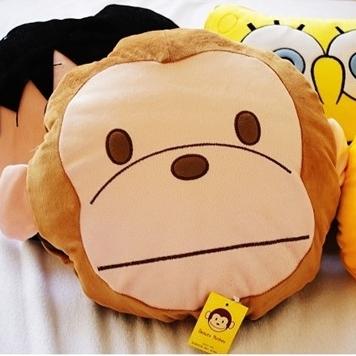 美麗大街【S11062609】猴子.海綿寶寶.小熊維尼.米老鼠.多摩君.小丸子...涼被 被子 抱枕 枕頭 靠枕