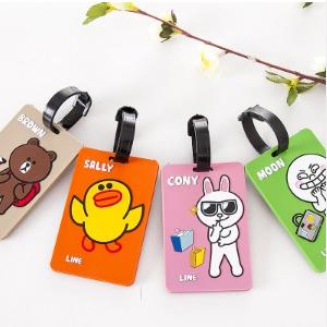 美麗大街【BFA56E4E16E1】韓版可愛卡通立體行李箱卡牌旅行公交卡套
