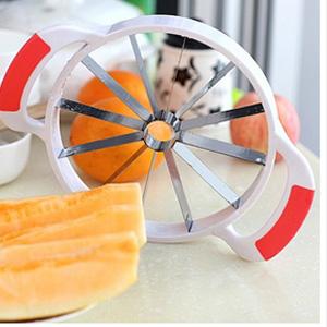 美麗大街【BFI07E5E24EK48】多功能不銹鋼水果切片器(30*21.5cm)
