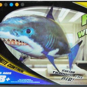 衫皇衫家【fa009】今日最便宜~$485元Flying White Shark 飛天魚 遙控空中鯊魚 超熱賣