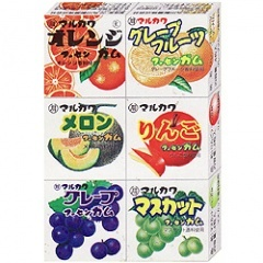 日本古早味水果口香糖(35g)