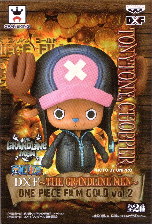 台灣代理版 電影版 DXF THE GRANDLINE MEN ONE PIECE FILM GOLD VOL.2 單售 喬巴 TONY TONY CHOPPER 海賊王 航海王 公仔