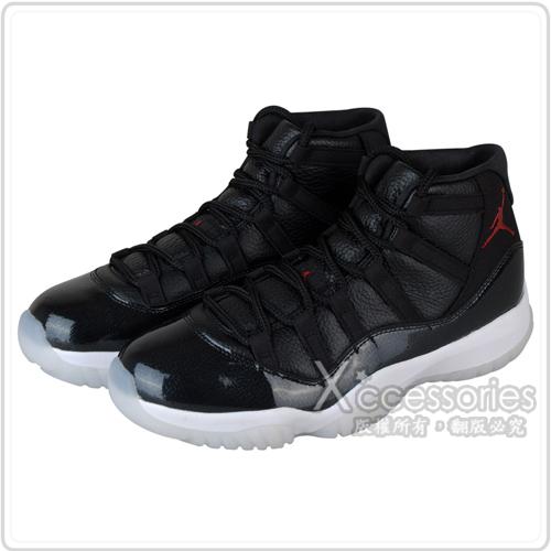 NIKE AIR JORDAN 11 RETRO 喬丹AJ11代籃球鞋(男/黑+白)
