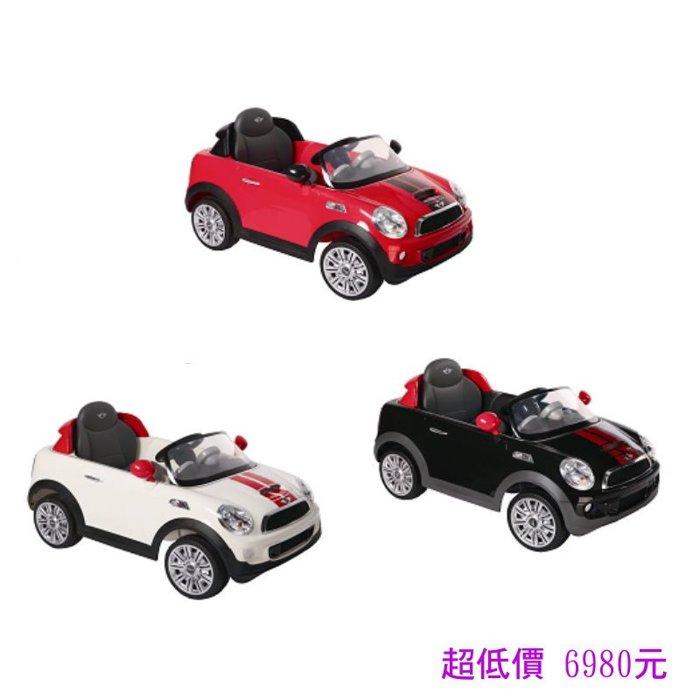 *美馨兒*Mini CooperS 搖控電動車/(遙控)雙驅電動車(W456EQG)3色可選 6980元
