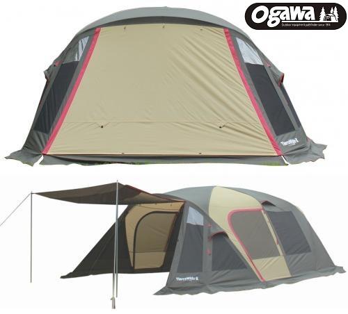 TierraWide-II  Excellent 加寬版 Ogawa帳篷 小川帳篷 一房一廳帳