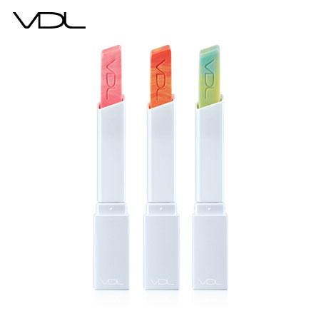 韓國 VDL 立方唇膏 3.3g 唇彩 唇膏 口紅 方型漸變色口紅【B062342】
