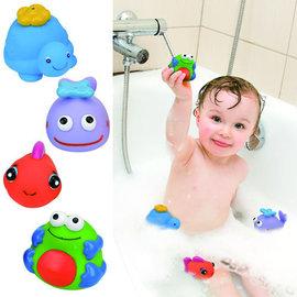 *babygo*奇智奇思 K's Kids -動物造型洗澡玩具組(4入組)